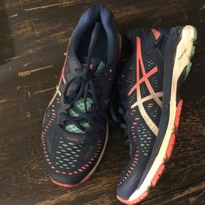 ASICS size 8 running shoes